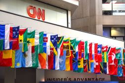 Atlanta CNN Flags