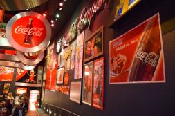 Atlanta Coca Cola World Ads