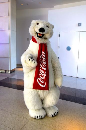 Atlanta Coca Cola World Bear