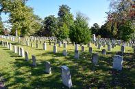 Atlanta Oakland Cemetary Confedereate Tombs Area