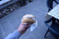 Here it is, the famous delicacy, Lardo di Colonnata!