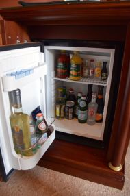 Gallery Park Hotel Room Minifridge