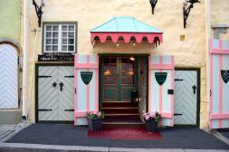 Hotel Schlossle Entrance