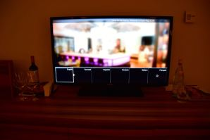 Hyatt Regency Kiev Room TV