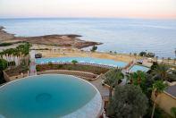 Kempinski Ishtar Dead Sea Circular Pool View
