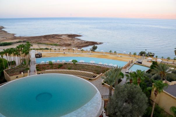 Kempinski Ishtar Dead Sea Circular Pool View