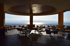 Kempinski Ishtar Dead Sea Restaurant Seating Outdoor