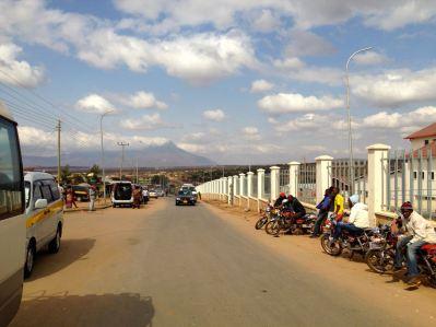 Kenya Border Crossing Road