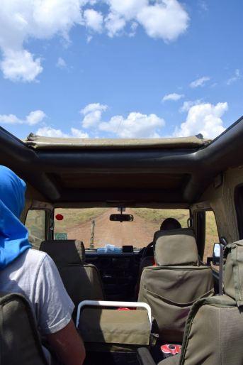 Maasai Mara Truck View