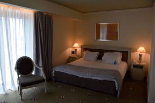 NJV Athens Plaza Hotel Room Bed