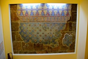 Original preserved wall