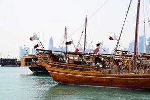 Doha Corniche Dhows