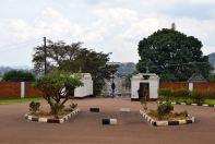 Kampala Mengo Palace Gates