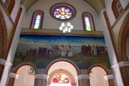 Kampala Rubaga Cathedral Mural