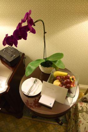 Ritz Carlton Beijing Room Welcome