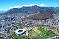 Cape Town Helicopter Tour View
