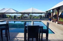 Courtyard Marriott Paramaribo Pool Seating