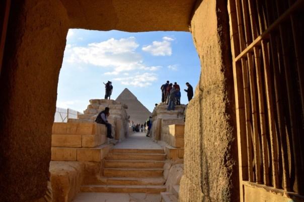 Entering the Sphinx area.
