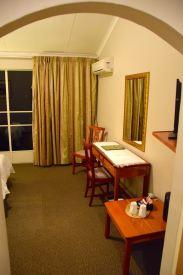 Mantenga Lodge Room Entrance
