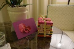 Royal Riviera Room Welcome