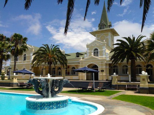 Swakopmund Hotel Pool View