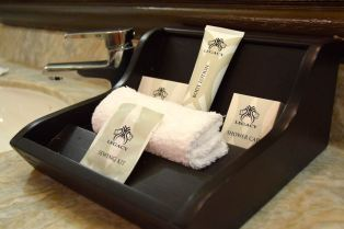 Windhoek Country Club Resort Suite Bathroom Amenities