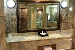 Windhoek Country Club Resort Suite Bathroom Sinks
