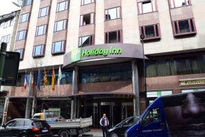 Holiday Inn Andorra Entrance