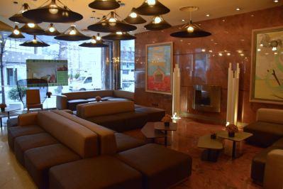 Holiday Inn Andorra Lobby Seating