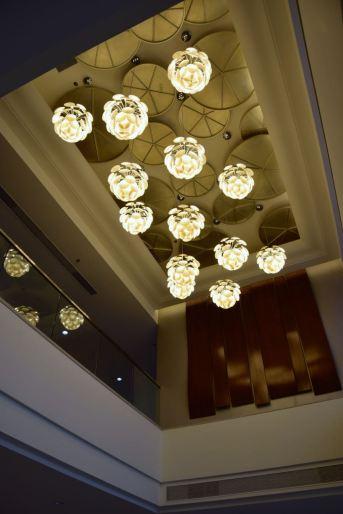 Guyana Marriott Georgetown Lobby Ceiling