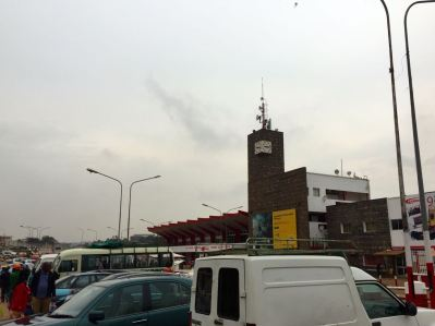 Yaounde Train Station Clock