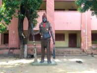 Bamako Institut National des Art Statue