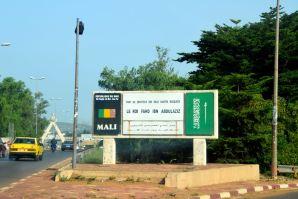 Bamako Mosque Sign