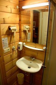 Hotel Blafell Bathroom