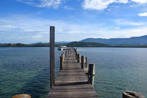 Papua New Guinea Port Moresby Loloata Island Dock