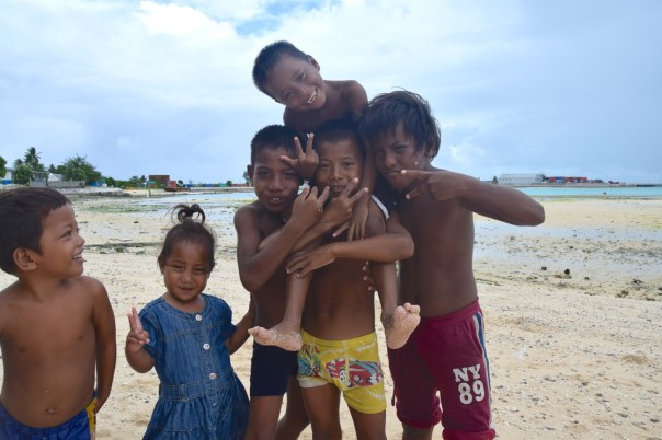 Kiribati Tarawa Local Kids
