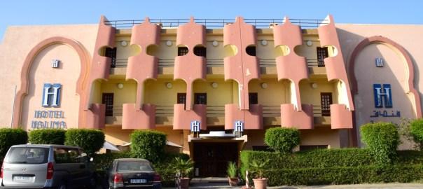 Hotel Halima Header