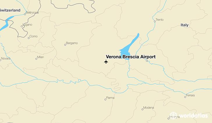 map verona airport