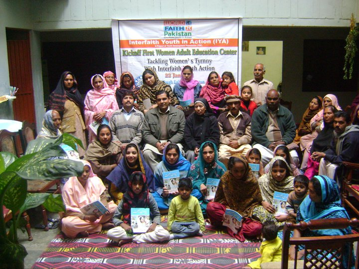 Kickoff of the first Women Adult Education Center in Lahore, Pakistan