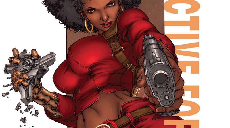 Misty Knight, The Original  Sistah with the Fro!