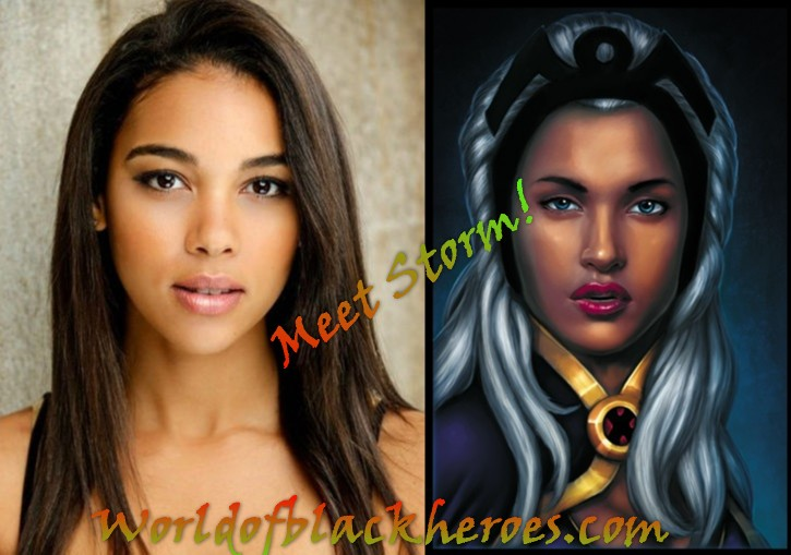 Meet Alexandra Shipp...the X-men's new Storm!