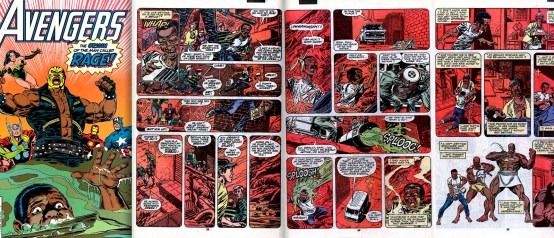 Origin of Rage from Avengers vol.1 #