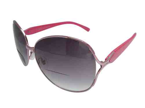 Gabriella Bifocal Sunglasses in Pink