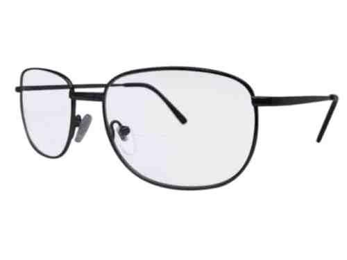 Idaho Bifocal Reading Glasses in Pewter
