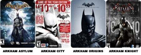 Arkham-titles