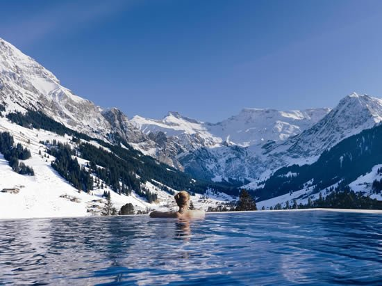 Cambrian Adelboden Infinity Pool