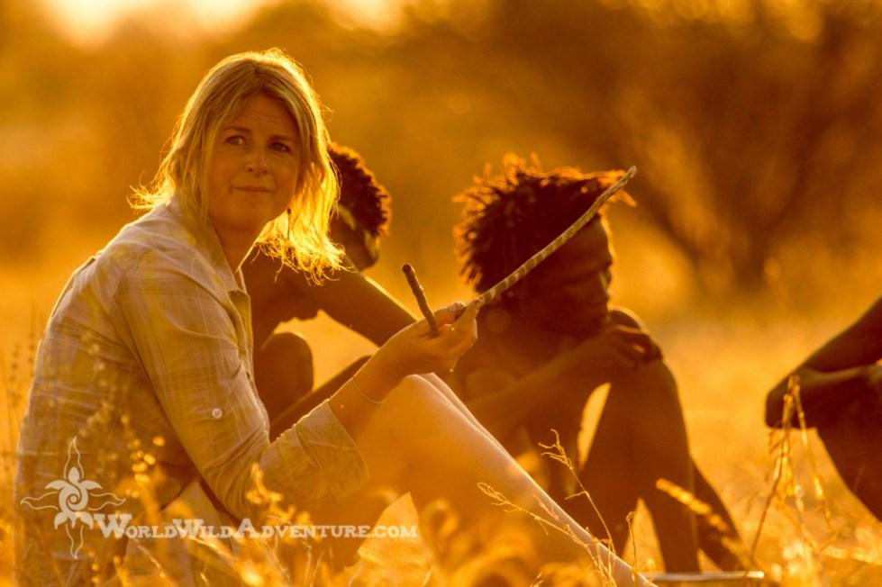 Bushmen with Jen