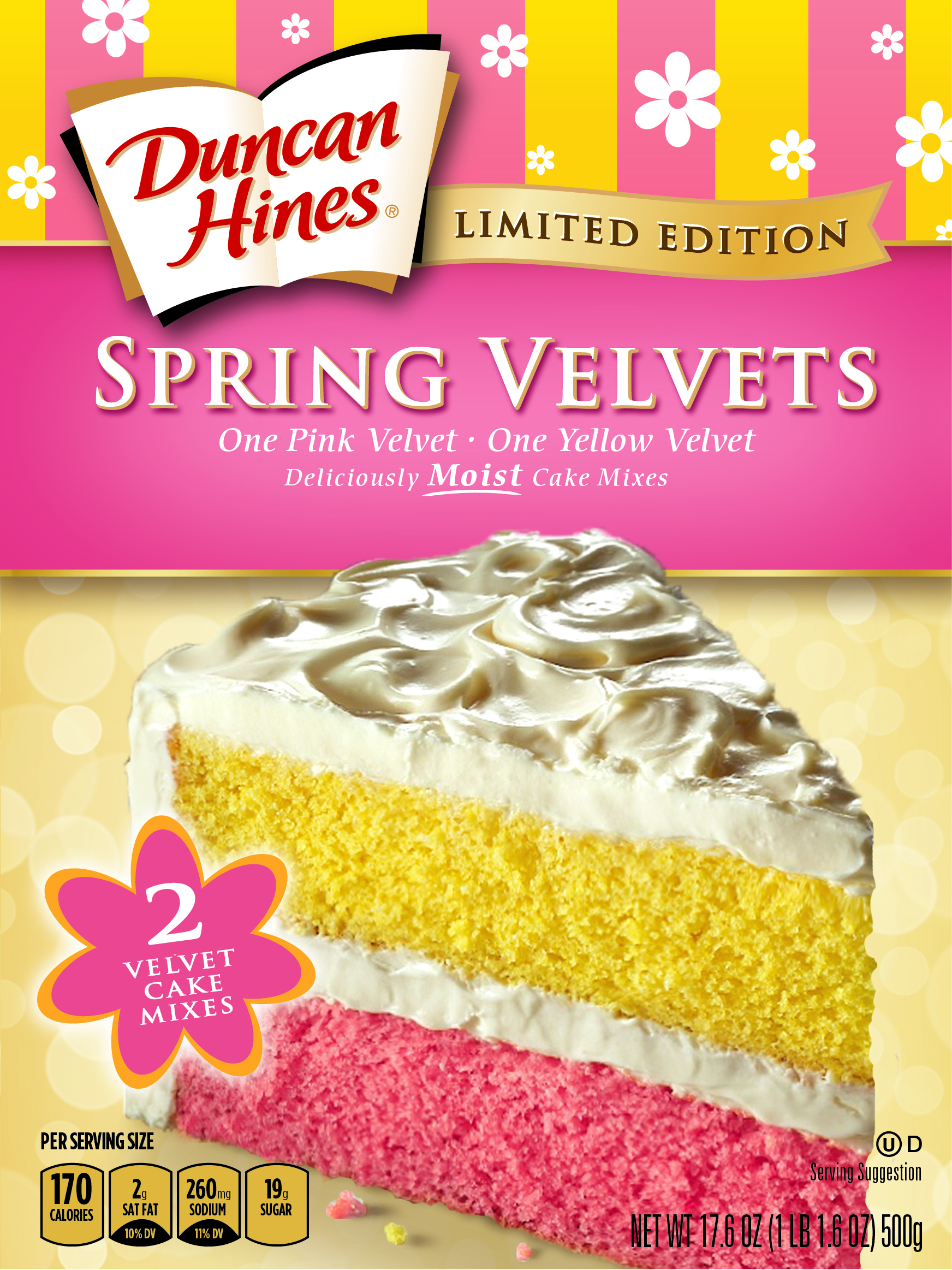 Unique Dh Spring Velvet Front Box Duncan Hines Spring Velvets Cake Mixes Make Your Easter Cake Duncan Hines Recipes Applesauce Spice Cake Duncan Hines Recipes Mississippi Mud Brownies nice food Duncan Hines Recipes