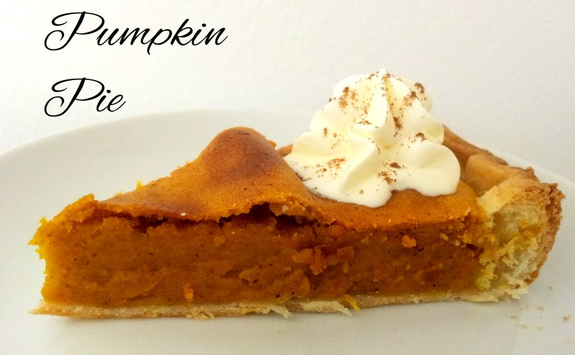 Pumpkin Pie & a Failed Pinecone Paint Project