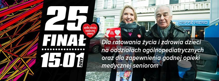 25 Finał WOŚP - startujemy!